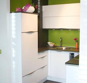 Küche Bauformat bauformat porto arktis seidenmatt mit swarovski wieser